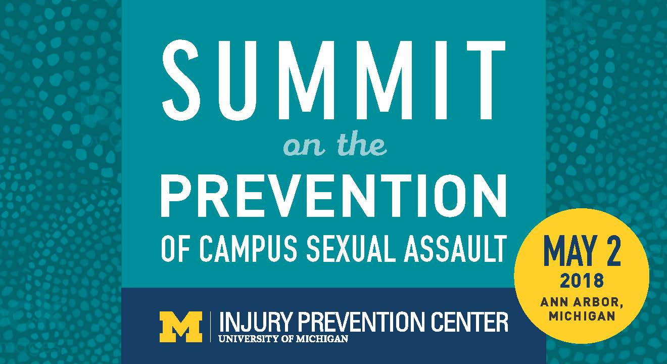 Sexual assault Summit save the date 2018