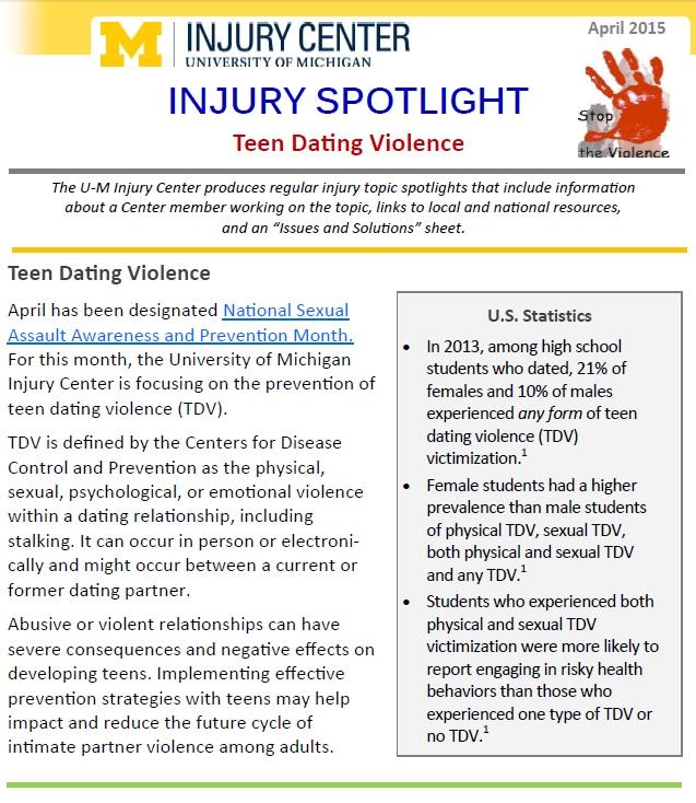 Dating of injury