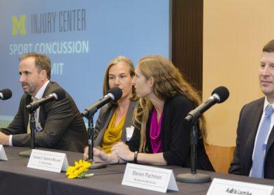 Panel discussion, U-M Injury Center Sport Concussion Summit
