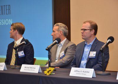 Morning panel discussion, U-M Injury Center Sport Concussion Summit