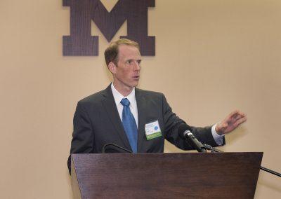 Steve Broglio, PhD, moderator, University of Michigan Injury Center Sport Concussion Summit