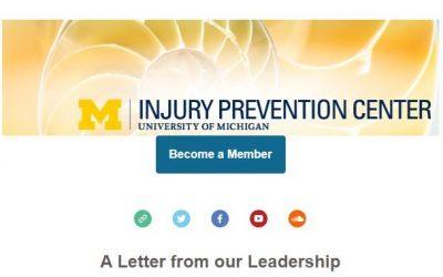 U-M Injury Prevention Center Newsletter January 2021