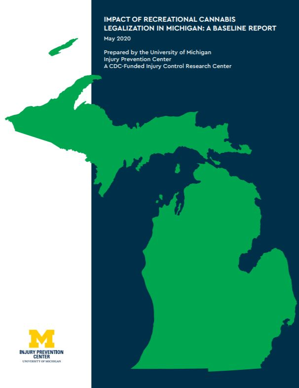 cannabis report michigan map