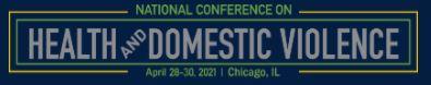 health domestic violence event logo
