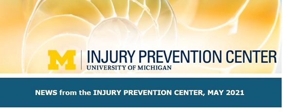 injury prevention center shell image and logo