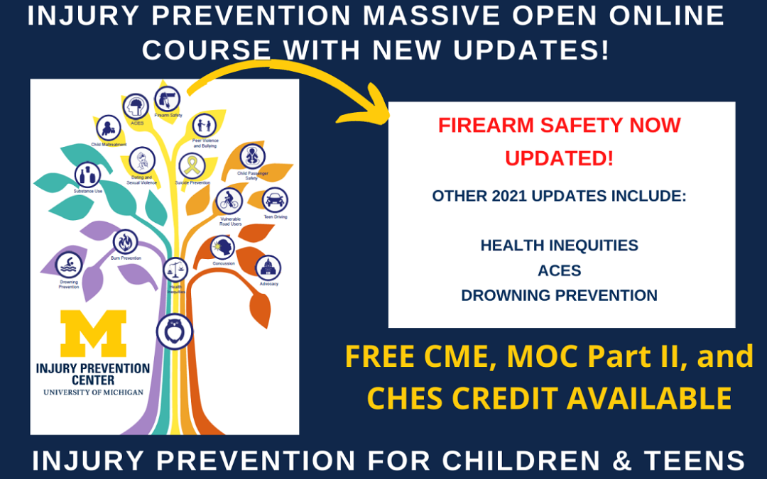 Explorethe Updated IPC Injury Course with New Content on Firearm Safety, ACES, Drowning Prevention, and Health Inequities